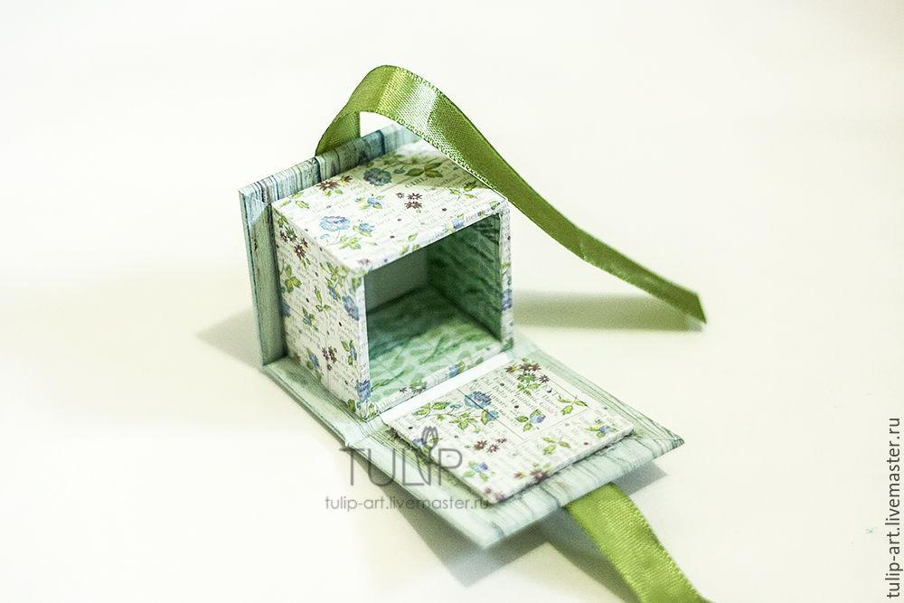 Как сделать коробочку для кольца своими руками из бумаги