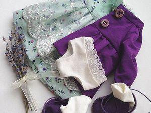 Стильная одежда для кукол от Дины Крыловой | Ярмарка Мастеров - ручная работа, handmade
