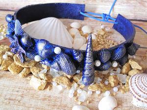 Мастерим морскую корону своими руками быстро и просто. Ярмарка Мастеров - ручная работа, handmade.