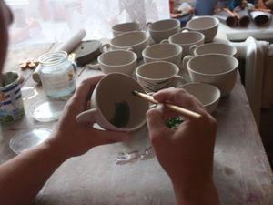 Ангобы.. Керамика.. Ярмарка Мастеров - ручная работа, handmade.