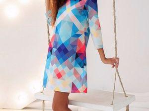 Платье , которое притягивает к себе взгляды не только мужчин, но и проходящих мимо женщин! | Ярмарка Мастеров - ручная работа, handmade