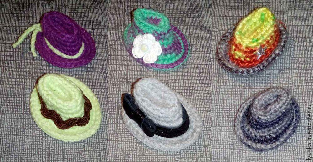 шляпа для куклы, аксессуар