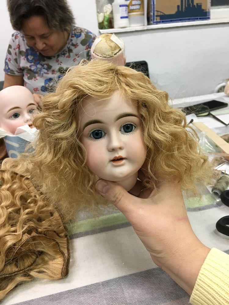парик для куклы