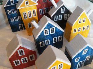 Норвежская деревня. | Ярмарка Мастеров - ручная работа, handmade