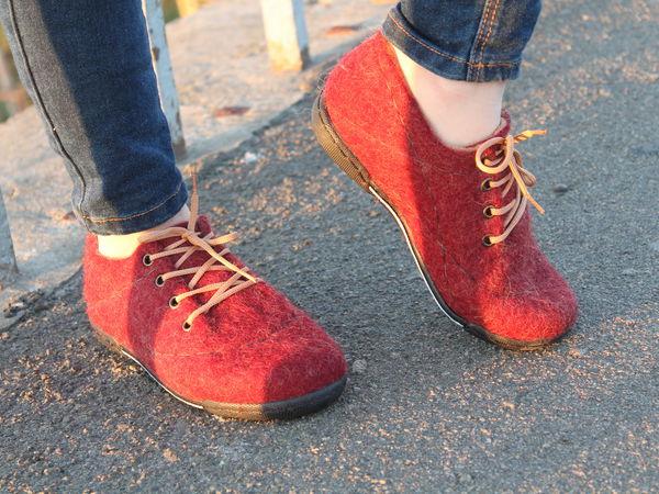 Валяем легкую обувь с Мариной Климчук: туфли, лофферы, кеды, ботиночки.   Ярмарка Мастеров - ручная работа, handmade