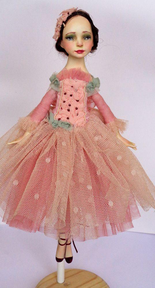 кукла, подвижная кукла, рождественский подарок, балеринка, новогодний подарок, рождественский декор, декор интерьера