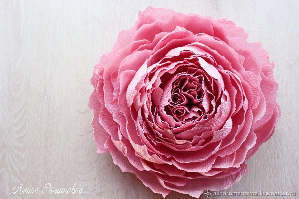 ростовые цветы, алина романовна, ростовой пион, ростовая роза, крупный цветок, огромные цветы, ростовой цветок из бумаги, цветы из бумаги