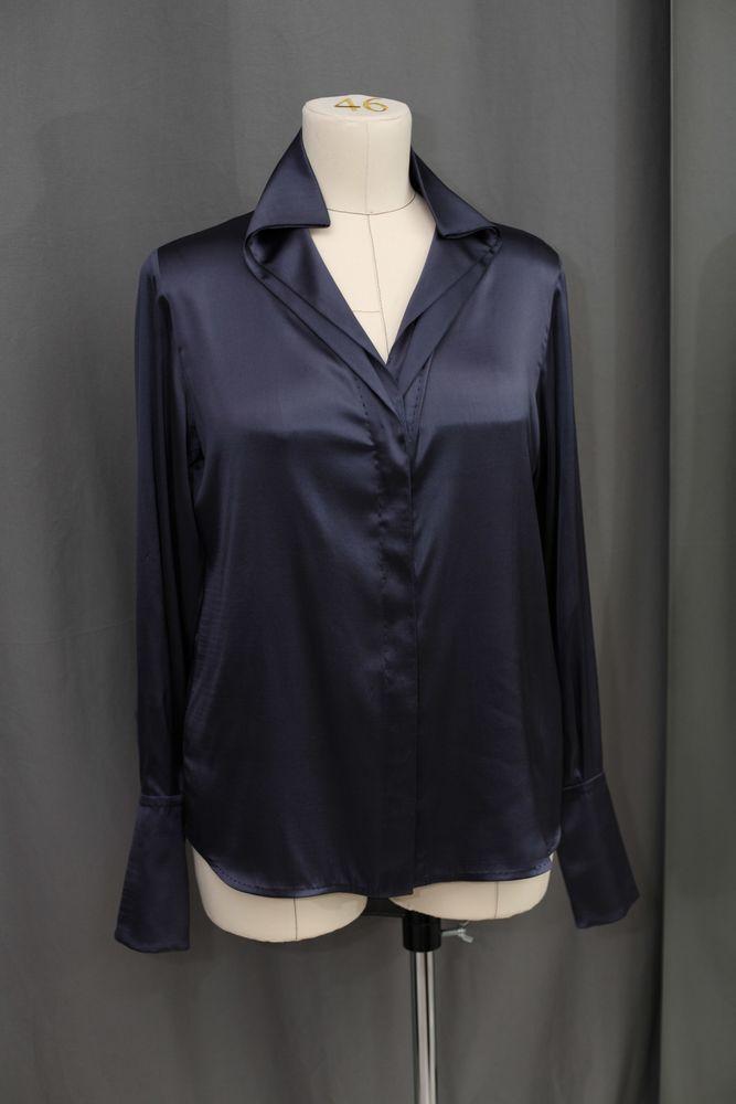 блузка из шелка, итальянский шелк