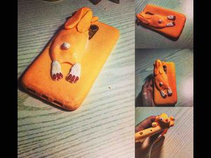 как сделать силиконовый чехол для телефона ярмарка мастеров