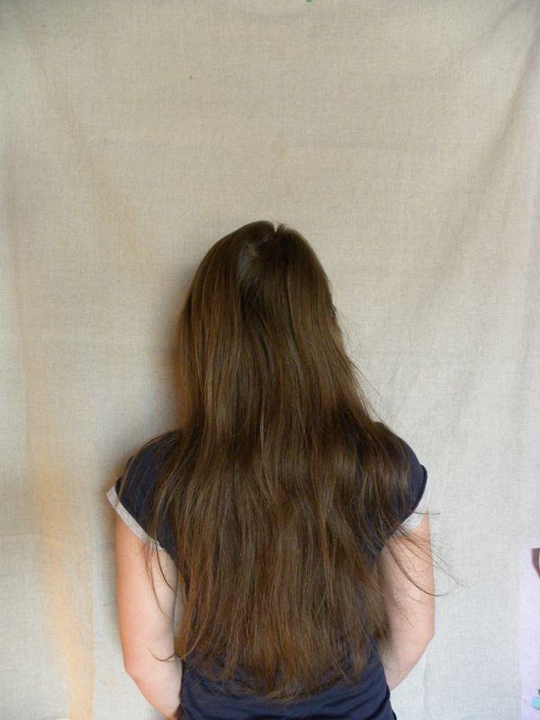 Как собрать волосы в пучок при помощи волшебной палочки, фото № 1