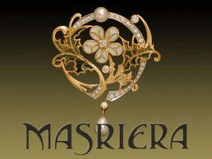 Ювелирное искусство Луиса Масриера — последователя Рене Лалика и главного представителя стиля ар нуво в Испании. Ярмарка Мастеров - ручная работа, handmade.