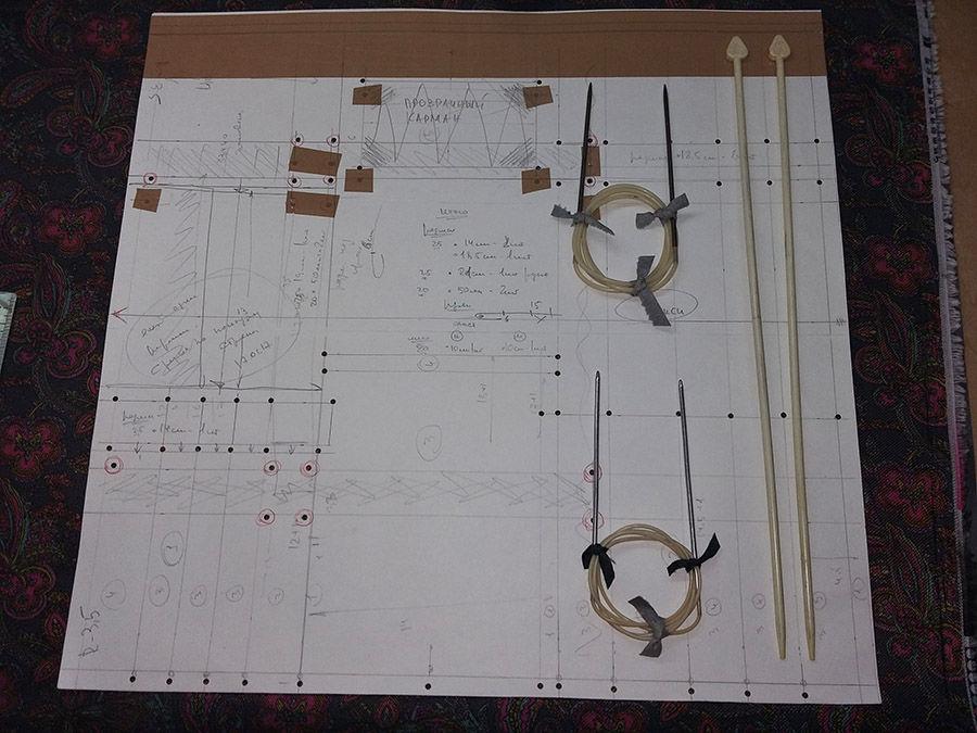 крючки, вязание на заказ, хранение материалов, процесс работы