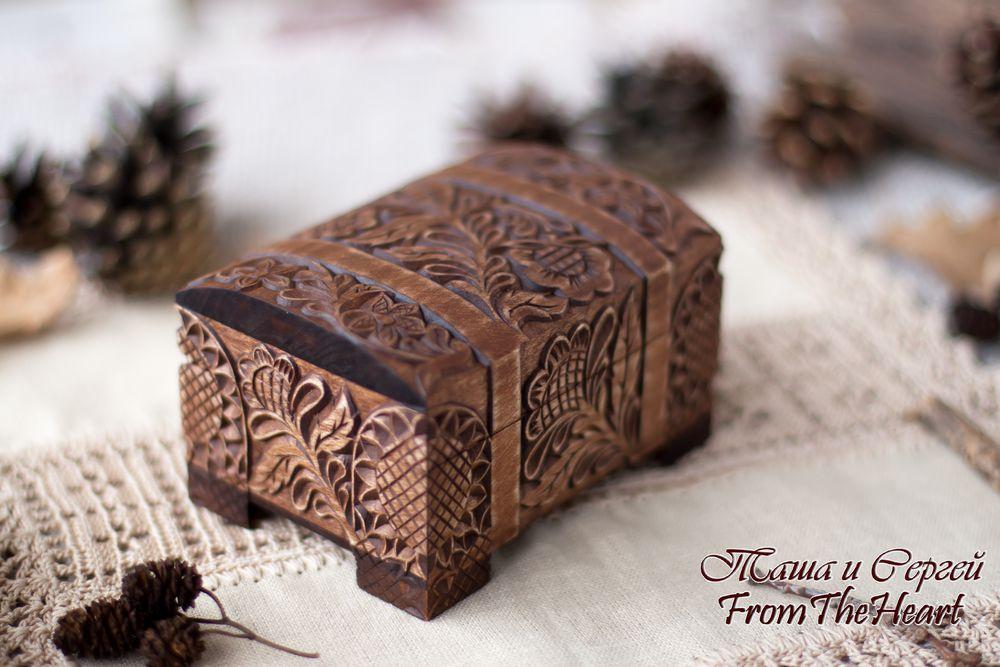 деревянная шкатулка, подарок девушке