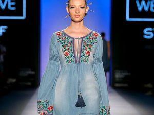 Современный взгляд на русский стиль в одежде. Ярмарка Мастеров - ручная работа, handmade.