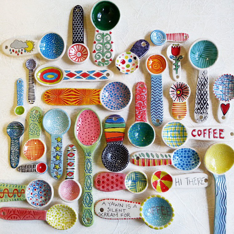 A Love Affair with Clay: Bright Pottery by Charity Hofert, фото № 8