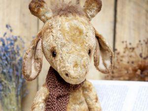 Жираф тедди Мо! Новый житель магазина :) | Ярмарка Мастеров - ручная работа, handmade