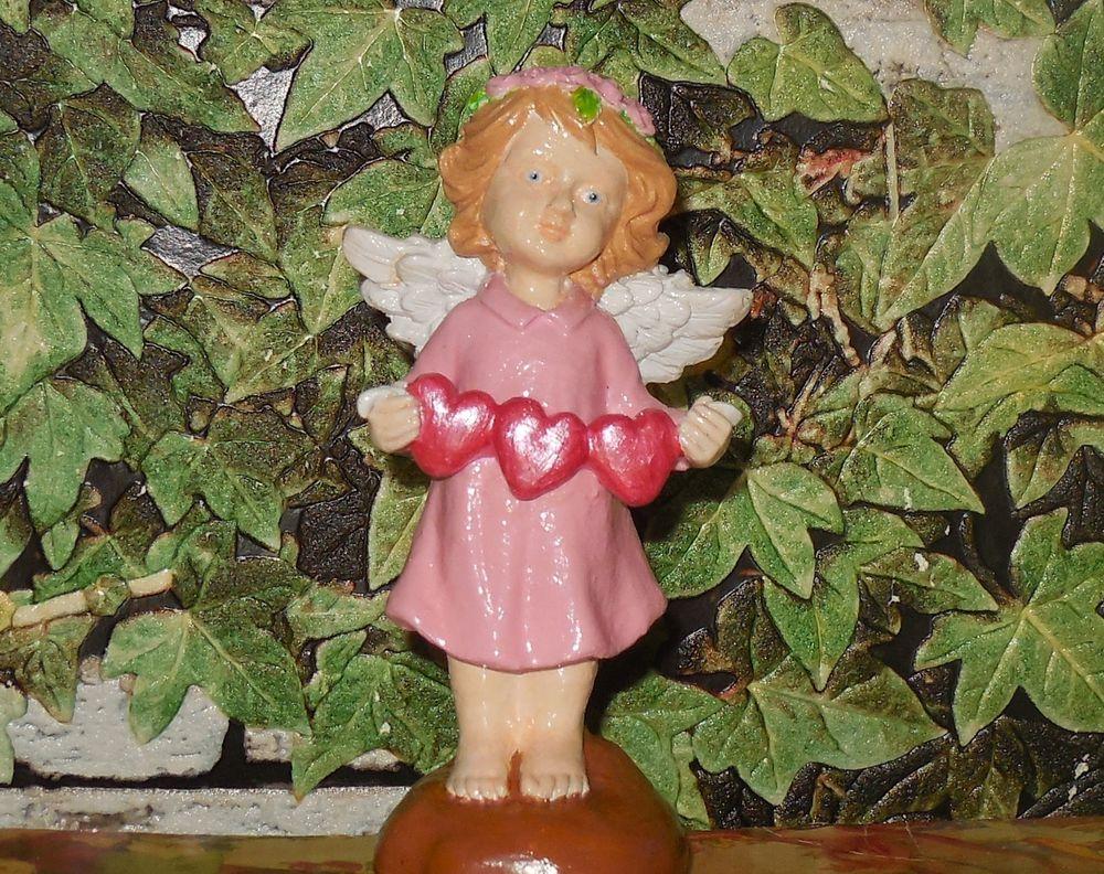 розыгрыш, конфетка, розыгрыш конфетки, розыгрыш приза, розыгрыш подарка, статуэтка, роспись handmade, ангелочек, ангелок, день святого валентина, день всех влюбленных