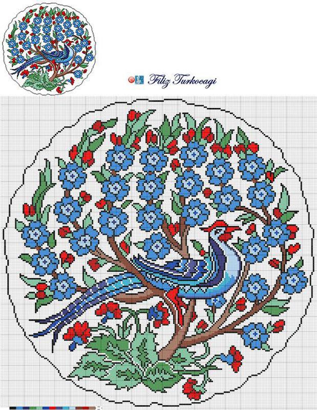 турецкая вышивка