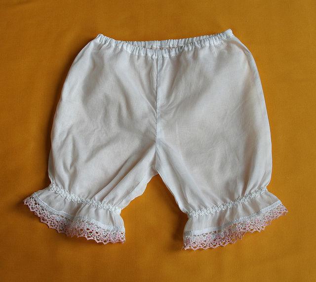 панталоны, хлопок, белый
