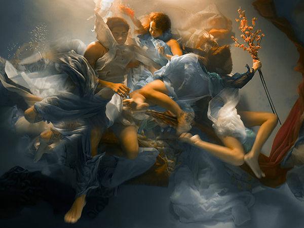 Уникальные подводные фотографии в стиле Барокко Christy Lee Rogers