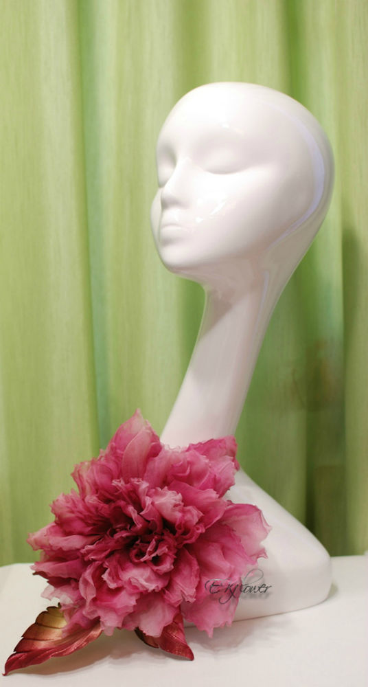 видео мастер-класс, цветы из ткани, обучение цветоделию, роза из шелка, роза-брошь, шелковые цветы