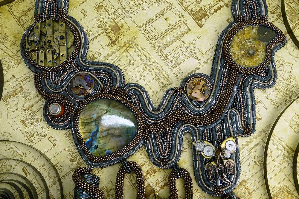 Альбом пользователя Gerda: Колье Фабрика Волшебства - конкурсная работа Anna Bronze competition 2017