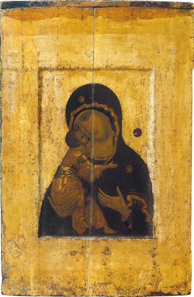 владимирская, оригинальный, крестины, живопись