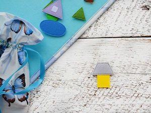 Геометрическая мозаика... Любовь к математике через игру:). Ярмарка Мастеров - ручная работа, handmade.