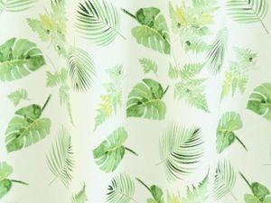 Получили Сатин Пальмовые листья в ассортименте. Ярмарка Мастеров - ручная работа, handmade.