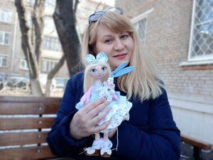 СКИДКИ от 40% на авторский куклы и игрушки. Ярмарка Мастеров - ручная работа, handmade.
