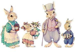 Очаровательная игра «Семейство Хоппер» от Kathy Lawrence. Ярмарка Мастеров - ручная работа, handmade.
