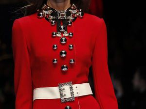 Создание узнаваемого стиля с помощью деталей и нюансов: наряды из коллекции Dolce & Gabbana сезона осень-зима 2016-2017. Ярмарка Мастеров - ручная работа, handmade.