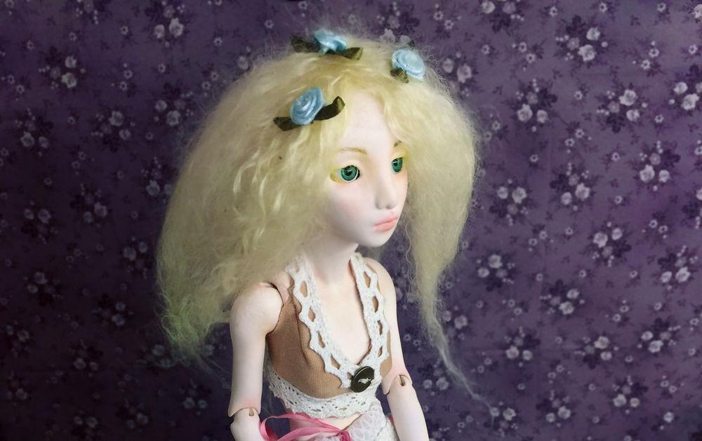 шарнирная кукла, кукла, подвижная кукла, флюмо, скульптура