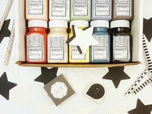 Новинка! Наборы красок Верненской мануфактуры для росписи мебели   Ярмарка Мастеров - ручная работа, handmade