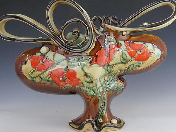 Гармония природы в керамике Carol Long | Ярмарка Мастеров - ручная работа, handmade