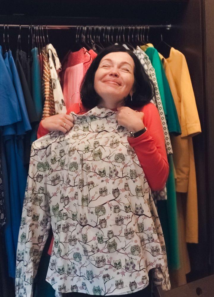 последний размер, блуза женская