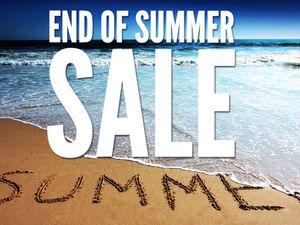 Распродажа End of Summer Sale — 15% на всё. Ярмарка Мастеров - ручная работа, handmade.