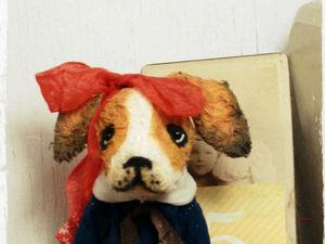 Собачка 1500 руб. Ярмарка Мастеров - ручная работа, handmade.