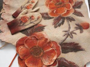 Даже поздней осенью расцветают Цветы. Ярмарка Мастеров - ручная работа, handmade.