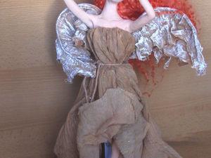 Мастер-класс по созданию крыльев ангела из ткани | Ярмарка Мастеров - ручная работа, handmade