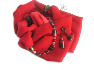 Минус 40% за шарфы-колье. Ярмарка Мастеров - ручная работа, handmade.