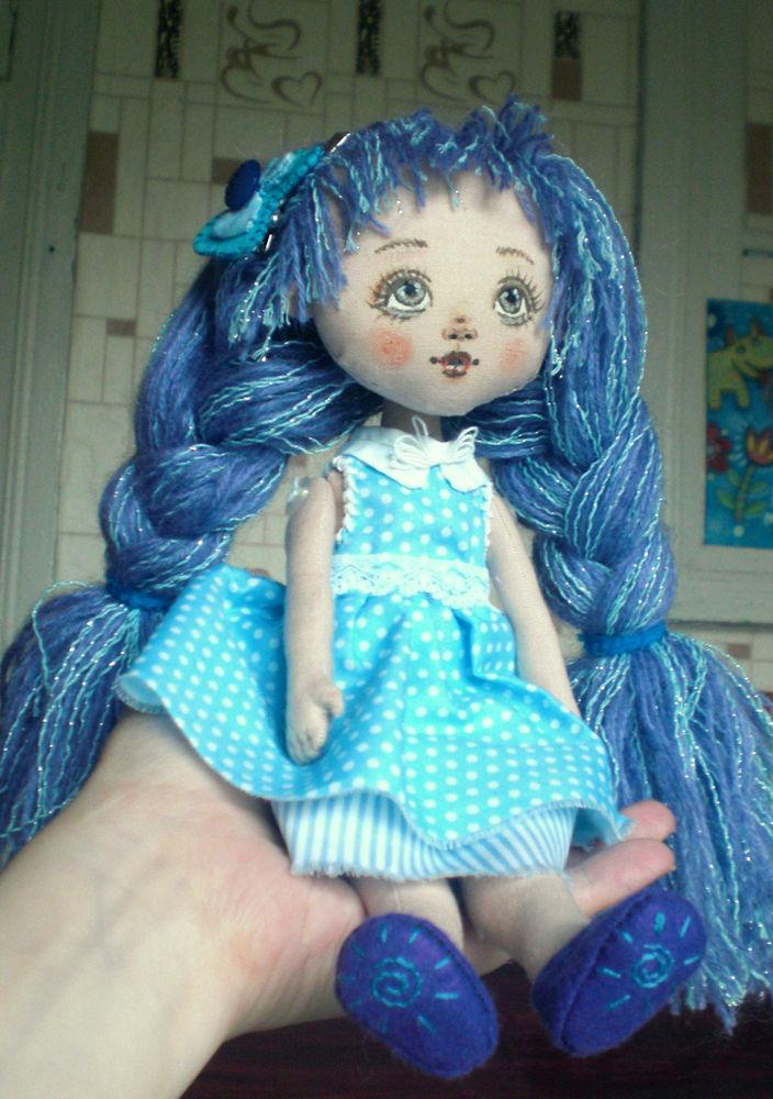 авторская кукла, подарок для девочки