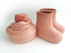 Скидка 10% на пинетки ручной работы из мериноса. Ярмарка Мастеров - ручная работа, handmade.