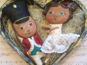Новогодняя сказка на ёлку: создаем стойкого оловянного солдатика и прекрасную балерину. Ярмарка Мастеров - ручная работа, handmade.
