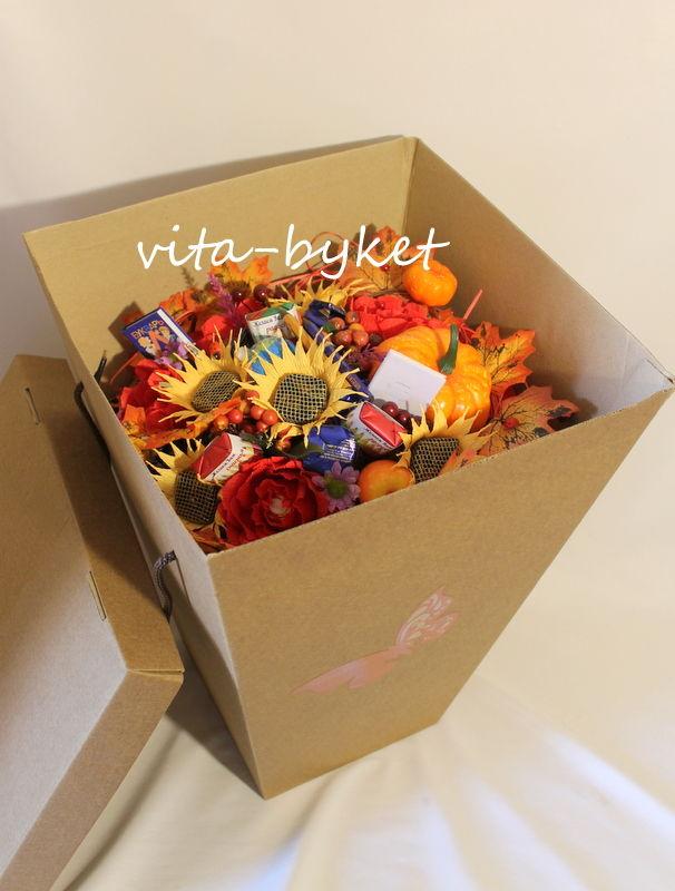 на 1 сентября, букет учителю, букеты от яколевой олеси, в школу букет, в первый класс, учителю подарок, букет в коробке