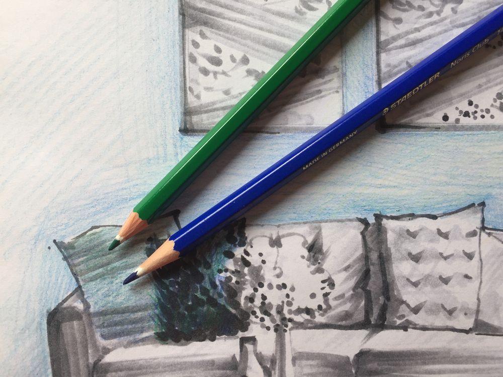 дизайн, как рисовать
