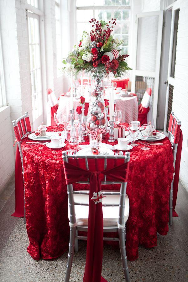 Christmas table decor ideas #holidaytable <a href=