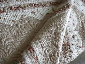 Обучаемся искусству квилтинга. Создаем нежное одеяло «Мерцание». Ярмарка Мастеров - ручная работа, handmade.