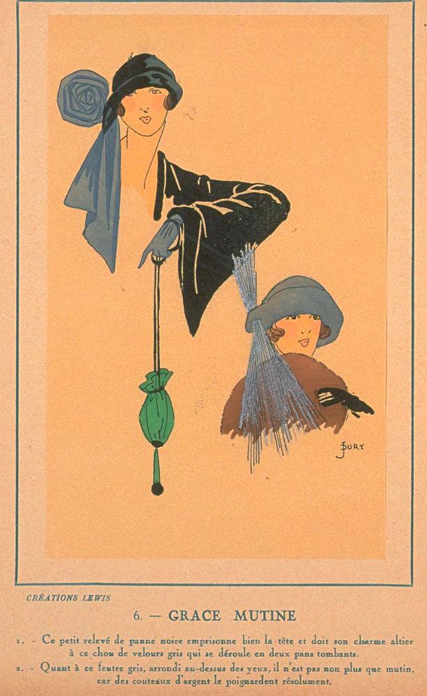 Ах, какие шляпки! Шляпная мода 1922 года по версии французского журнала «Les chapeaux du Tres parisien». Часть 2, фото № 27