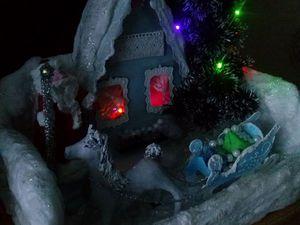 """""""Новогодняя сказка""""— поделка в детский сад, или Украшение праздника. Ярмарка Мастеров - ручная работа, handmade."""
